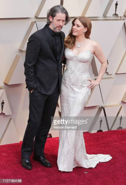 Amy Adams and Darren Le Gallo attend the 91st Annual Academy Awards at Hollywood and Highland on February 24 2019 in Hollywood California