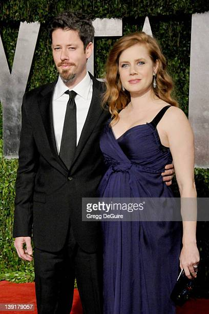 Amy Adams and Darren Le Gallo attend the Vanity Fair Oscar Party 2010 held at the Sunset Towers Hotel on March 7 2010 in West Hollywood California