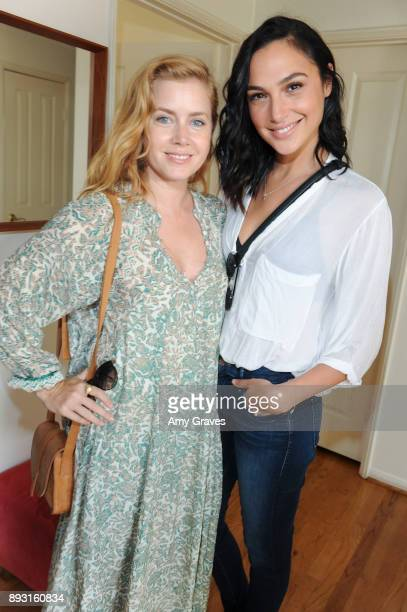 Amy Adams and Gal Gadot attend the Jen Klein Day of Indulgence on August 13 2017 in Los Angeles California