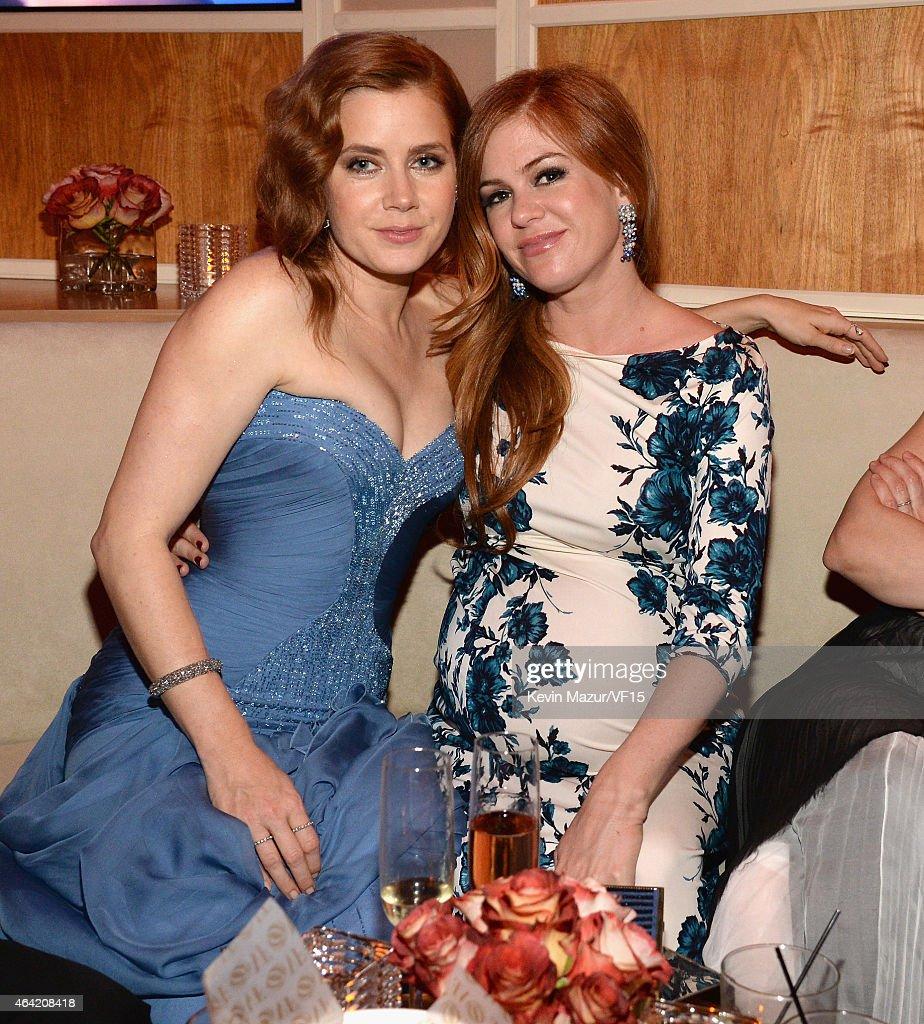 2015 Vanity Fair Oscar Party Hosted By Graydon Carter - Inside