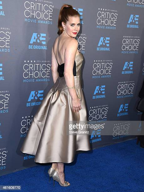 Amy Adams arrives at the 20th Annual Critics' Choice Movie Awards at Hollywood Palladium on January 15, 2015 in Los Angeles, California.