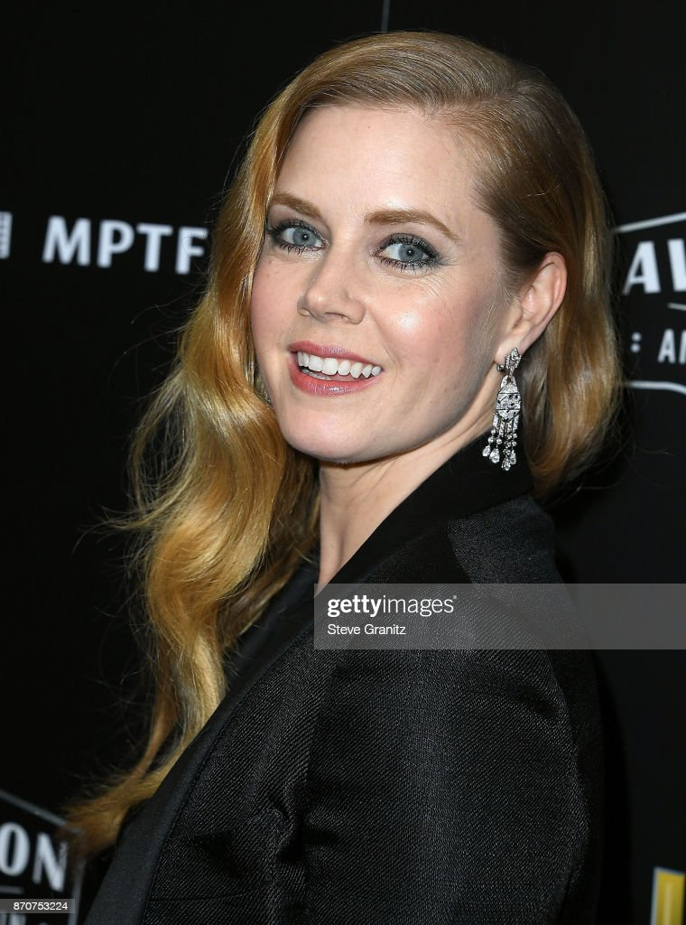 Amy Adams arrives at the 21st Annual Hollywood Film Awards at The Beverly Hilton Hotel on November 5, 2017 in Beverly Hills, California.