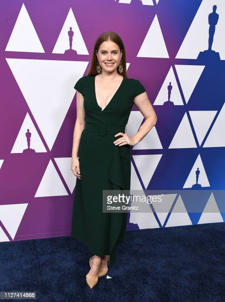 Amy Adams arrives at the 91st Oscars Nominees Luncheon at The Beverly Hilton Hotel on February 04 2019 in Beverly Hills California