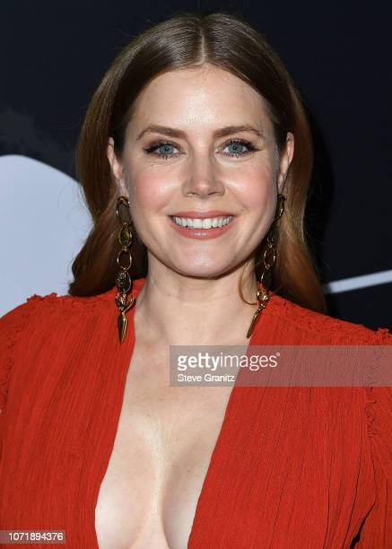 Amy Adams arrives at the Annapurna Pictures Gary Sanchez Productions And Plan B Entertainment's World Premiere Of Viceat AMPAS Samuel Goldwyn Theater...