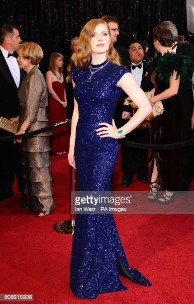 Amy Adams arriving for the 83rd Academy Awards at the Kodak Theatre Los Angeles