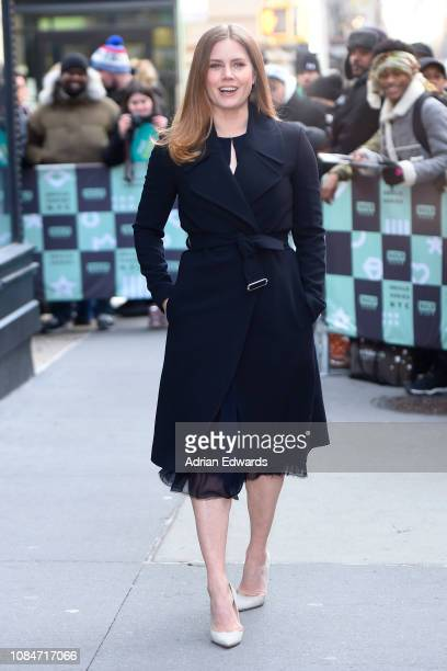Amy Adams at Build Series Live on December 19 2018 in New York City