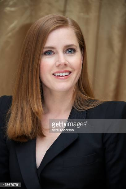Amy Adams at the American Hustle Press Conference at the Regent Beverly Wilshire Hotel on December 4 2013 in Beverly Hills California