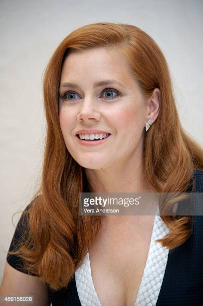 Amy Adams at the 'Big Eyes' Press Conference at The Beverly Hilton Hotel on November 15 2014 in Beverly Hills California