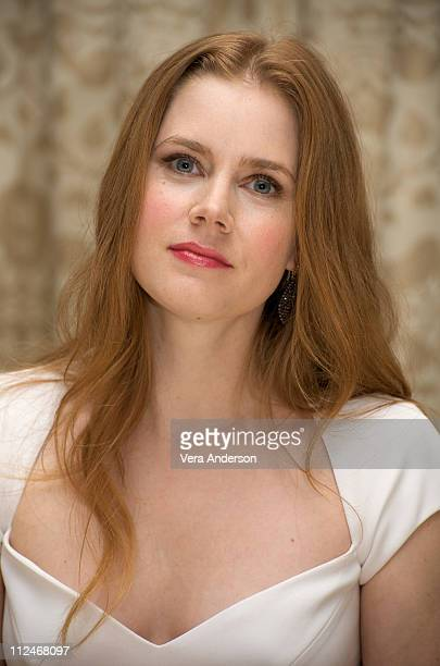 Amy Adams at the Doubt press conference at the Four Seasons Hotel on November 19 2008 in Beverly Hills California