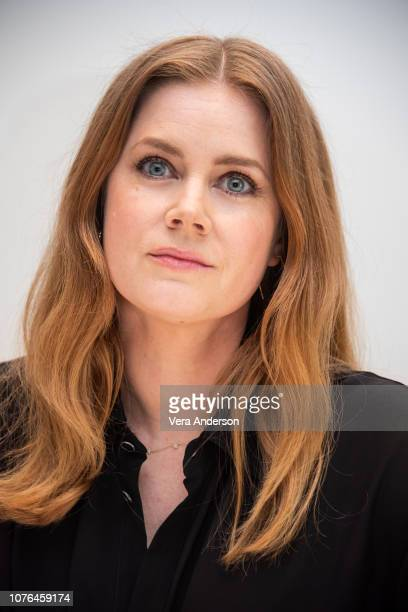 Amy Adams at the 'Vice' Press Conference at the Four Seasons Hotel on November 30 2018 in Beverly Hills California