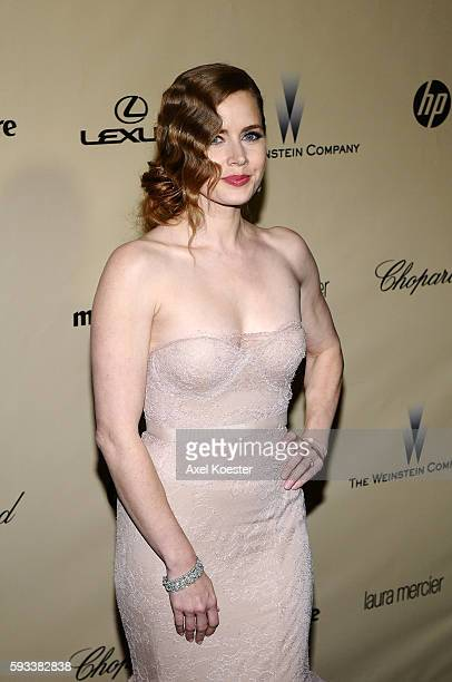 Amy Adams at The Weinstein Company 2013 Golden Globes After Party at The Old Trader Vic's at the Beverly Hilton Hotel in Beverly Hills Sunday evening