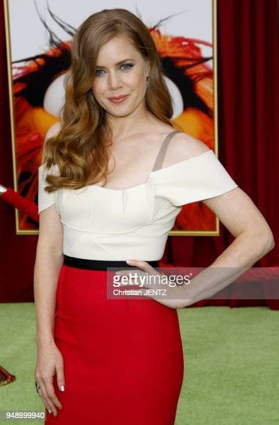 Amy Adams at the World Premiere of The Muppets held at the El Capitan Theater in Los Angeles USA on November 12 2011