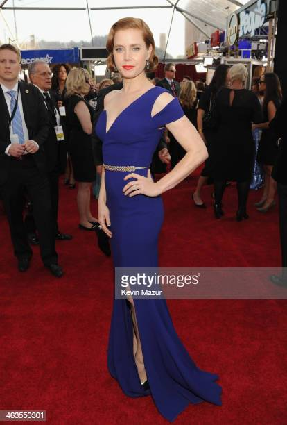 Amy Adams attends 20th Annual Screen Actors Guild Awards at The Shrine Auditorium on January 18 2014 in Los Angeles California