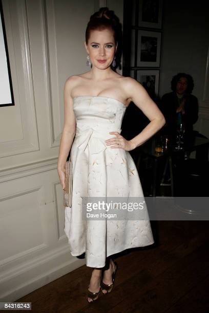Amy Adams attends a VIP screening for 'Doubt' at Browns Hotel on January 16 2009 in London England