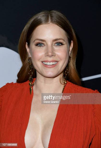Amy Adams attends Annapurna Pictures Gary Sanchez Productions and Plan B Entertainment's World Premiere of Vice at AMPAS Samuel Goldwyn Theater on...