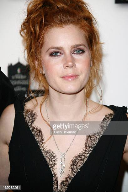 Amy Adams attends 'Doubt' Paris photocall on January 19 2009 in Paris France