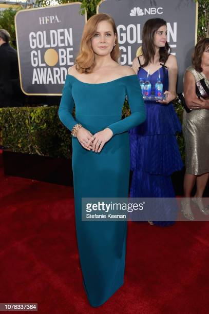 Amy Adams attends FIJI Water at the 76th Annual Golden Globe Awards on January 6 2019 at the Beverly Hilton in Los Angeles California