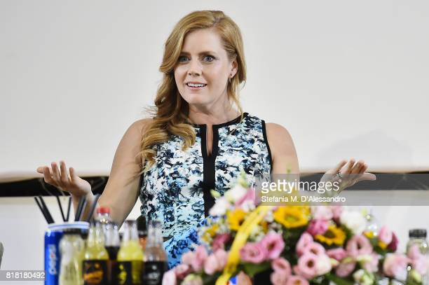 Amy Adams attends Giffoni Film Festival 2017 on July 18 2017 in Giffoni Valle Piana Italy