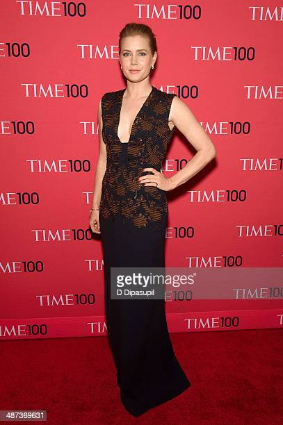 Amy Adams attends the 2014 Time 100 Gala at Frederick P. Rose Hall, Jazz at Lincoln Center on April 29, 2014 in New York City.