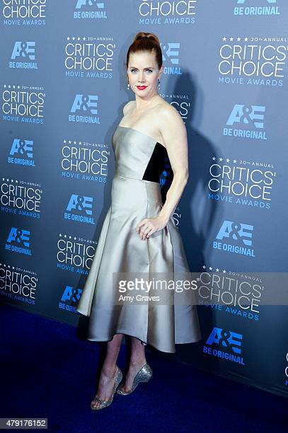 Amy Adams attends the 20th Annual Critics' Choice Movie Awards on January 15 2015 in Los Angeles California