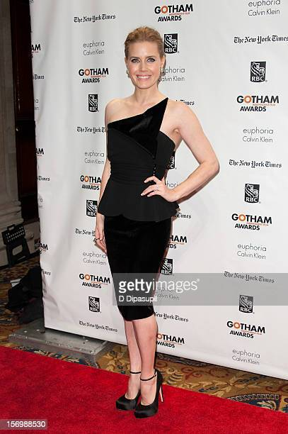 Amy Adams attends the 22nd annual Gotham Independent Film awards at Cipriani Wall Street on November 26 2012 in New York City