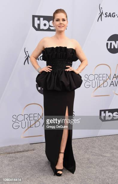 Amy Adams attends the 25th Annual Screen Actors Guild Awards at The Shrine Auditorium on January 27 2019 in Los Angeles California 480645