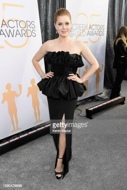 Amy Adams attends the 25th Annual Screen ActorsGuild Awards at The Shrine Auditorium on January 27 2019 in Los Angeles California 480568