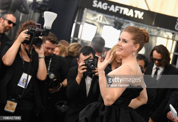 Amy Adams attends the 25th Annual Screen ActorsGuild Awards at The Shrine Auditorium on January 27 2019 in Los Angeles California
