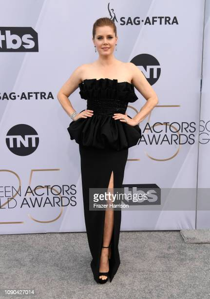 Amy Adams attends the 25th Annual Screen Actors Guild Awards at The Shrine Auditorium on January 27 2019 in Los Angeles California