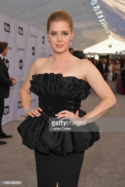 Amy Adams attends the 25th Annual Screen ActorsGuild Awards at The Shrine Auditorium on January 27, 2019 in Los Angeles, California.