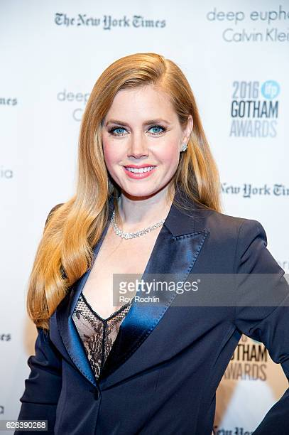 Amy Adams attends the 26th Annual Gotham Independent Film Awards at Cipriani Wall Street on November 28 2016 in New York City
