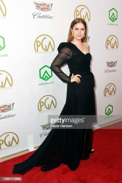 Amy Adams attends the 30th annual Producers Guild Awards at The Beverly Hilton Hotel on January 19 2019 in Beverly Hills California