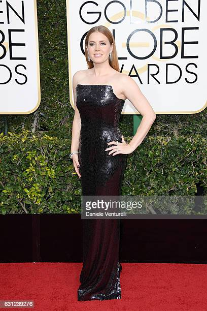 Amy Adams attends the 74th Annual Golden Globe Awards at The Beverly Hilton Hotel on January 8 2017 in Beverly Hills California
