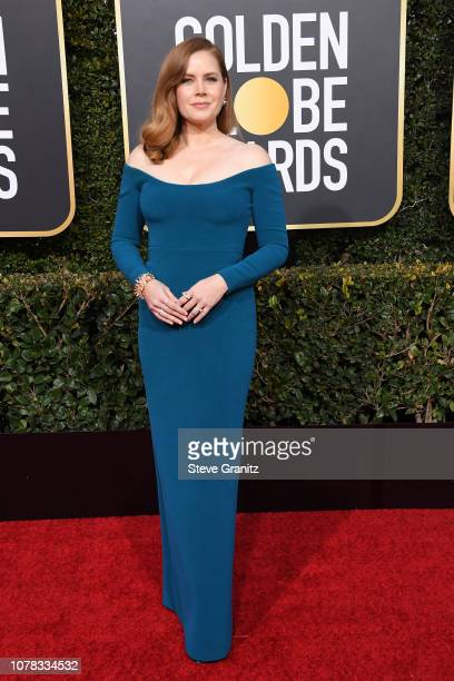 Amy Adams attends the 76th Annual Golden Globe Awards at The Beverly Hilton Hotel on January 6 2019 in Beverly Hills California