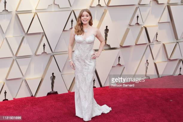 Amy Adams attends the 91st Annual Academy Awards Arrivals at Hollywood and Highland on February 24 2019 in Hollywood California