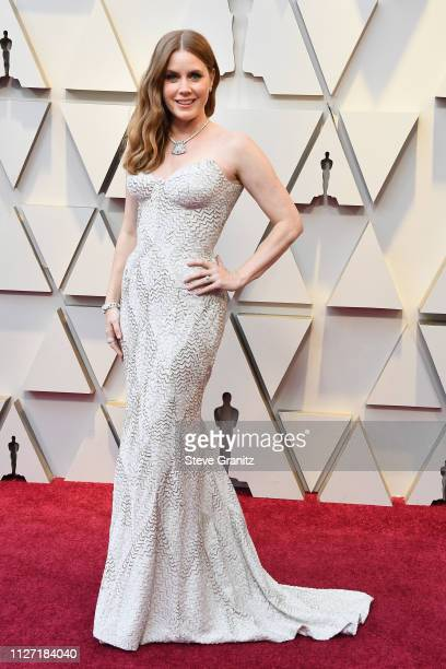 Amy Adams attends the 91st Annual Academy Awards at Hollywood and Highland on February 24 2019 in Hollywood California