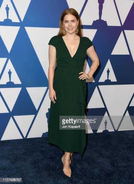 Amy Adams attends the 91st Oscars Nominees Luncheon at The Beverly Hilton Hotel on February 04 2019 in Beverly Hills California