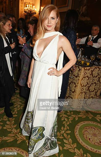 Amy Adams attends the Academy of Motion Picture Arts and Sciences new members reception at Lancaster House on October 10 2016 in London England