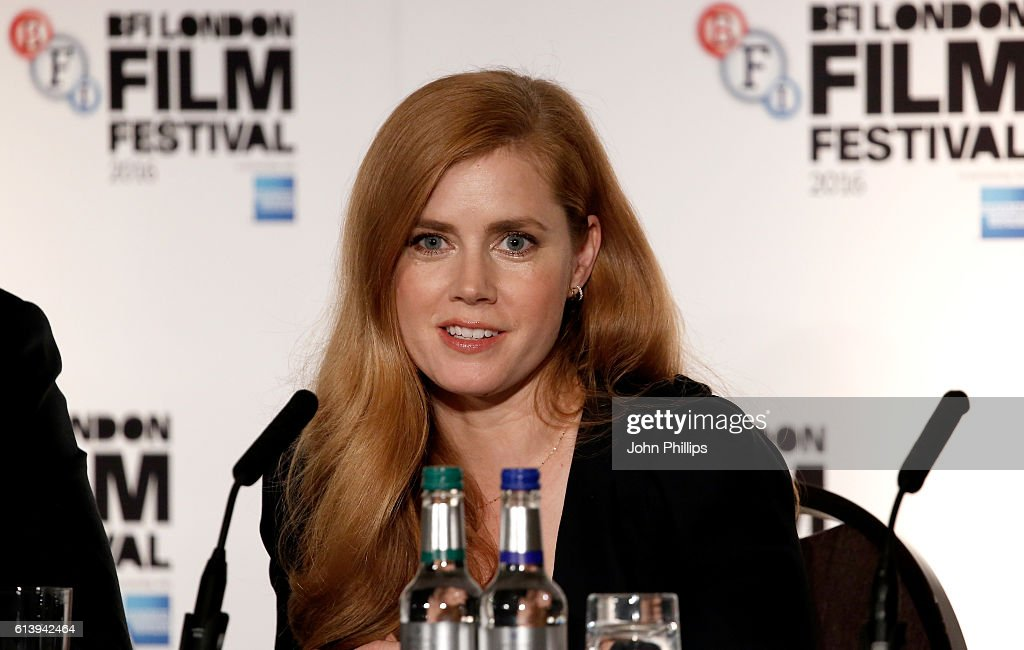 Amy Adams attends the 'Arrival' press conference during the 60th BFI London Film Festival at Corinthia Hotel London on October 11, 2016 in London, England.