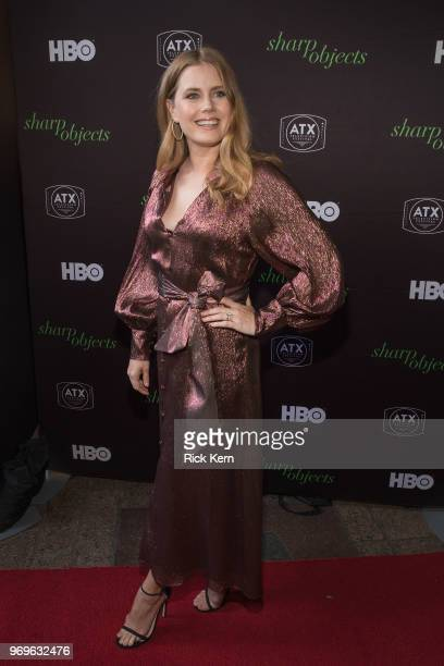 Amy Adams attends the ATX Television Festival at the Paramount Theatre on June 7 2018 in Austin Texas