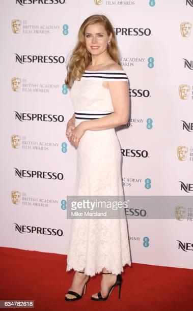 Amy Adams attends the BAFTA nominees party on February 11 2017 in London United Kingdom