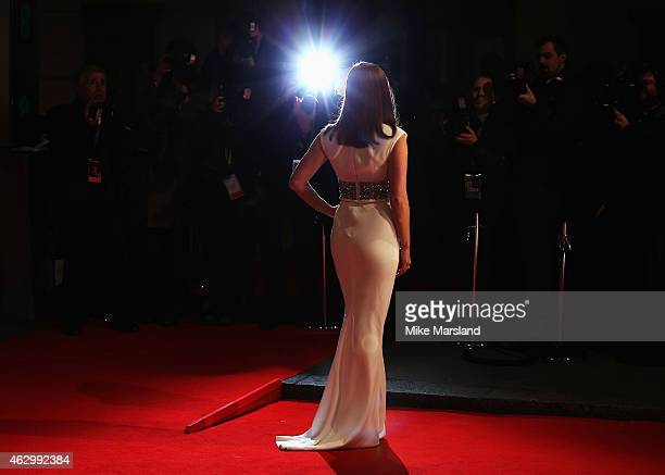 Amy Adams attends the EE British Academy Film Awards at The Royal Opera House on February 8 2015 in London England