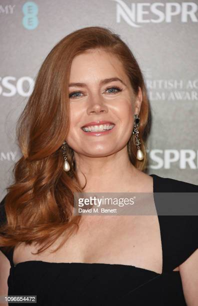 Amy Adams attends the Nespresso British Academy Film Awards nominees party at Kensington Palace on February 9 2019 in London England