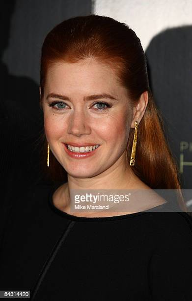 Amy Adams attends the photocall for 'Doubt' at Claridges on January 16 2009 in London England