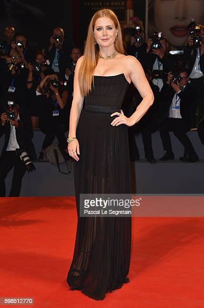 Amy Adams attends the premiere of 'Arrival' during the 73rd Venice Film Festival at Sala Grande on September 1 2016 in Venice Italy