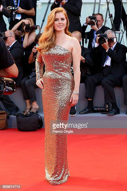 Amy Adams attends the premiere of 'Nocturnal Animals' during the 73rd Venice Film Festival at Sala Grande on September 2 2016 in Venice Italy