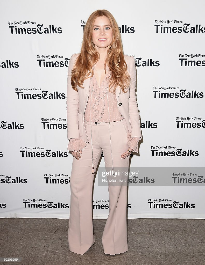 "TimesTalks With Amy Adams, ""Arrival"""