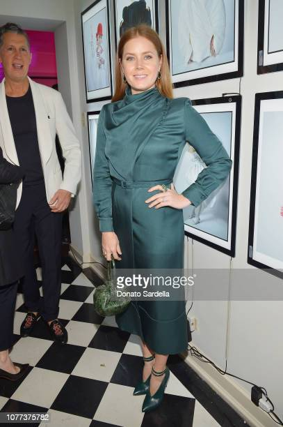 Amy Adams attends W Magazine Celebrates Its 'Best Performances' Portfolio and the Golden Globes with Audi and Giorgio Armani Beauty at Chateau...