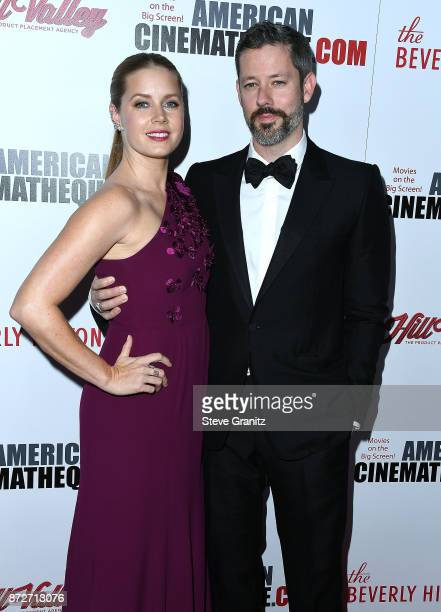 Amy Adams Darren Le Gallo arrives at the 31st Annual American Cinematheque Awards Gala at The Beverly Hilton Hotel on November 10 2017 in Beverly...