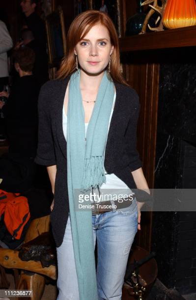 Amy Adams during 2005 Park City 'Junebug' Cocktail Party at Levi's Ranch in Park City Utah United States